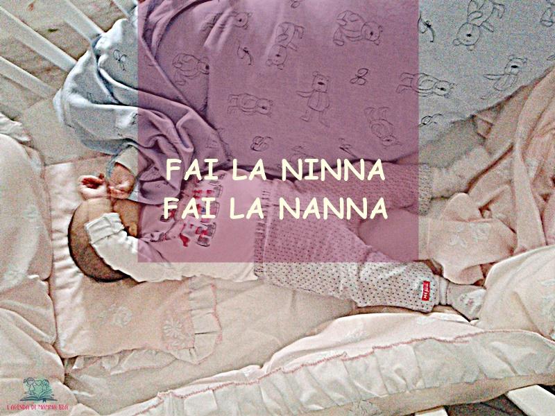 Tecniche per la ninna del bimbo descritte da Jessika collaboratrice de L'Agenda di mamma Bea