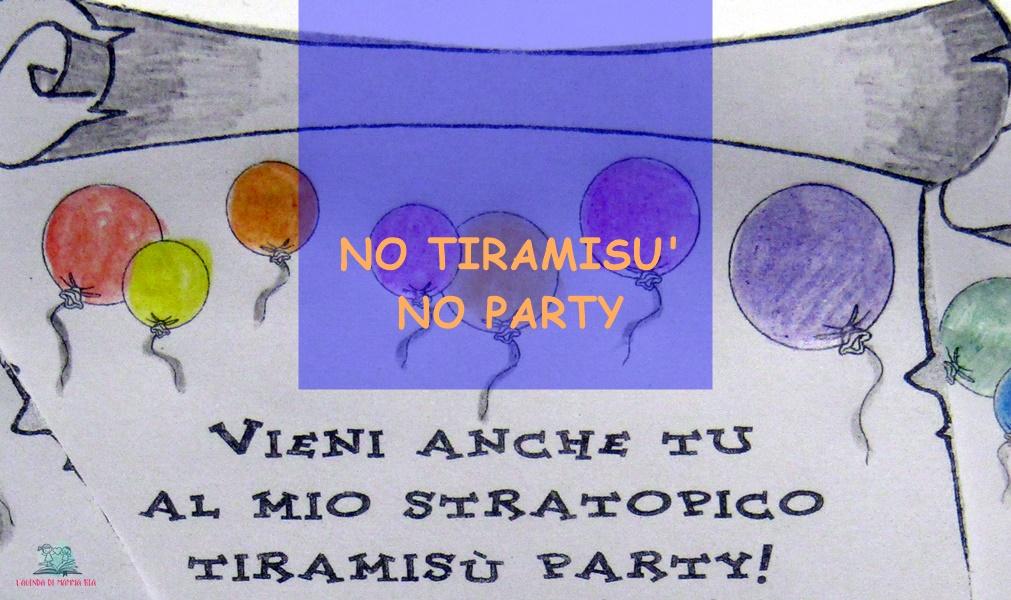 Il Tiramisù Party de L'Agenda di mamma Bea