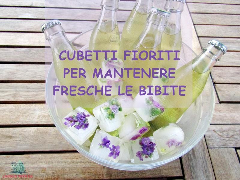 Bouquet di ghiaccio creato da L'Agenda di mamma Bea