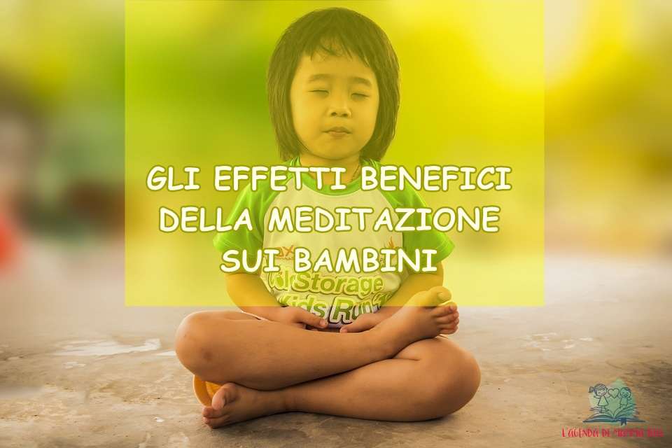 meditazione per bambini secondo L'Agenda di mamma Bea