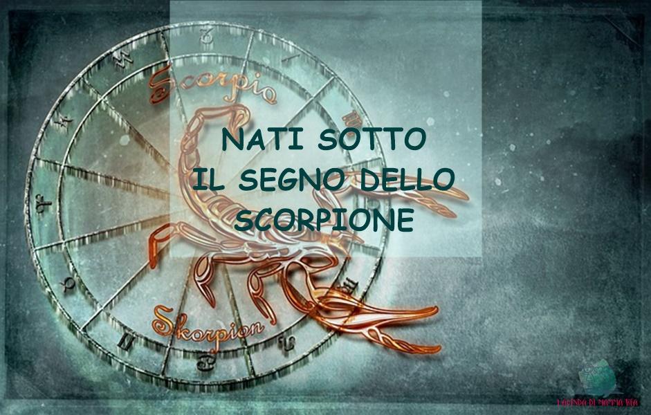 Scorpione descritto da L'Agenda di mamma Bea