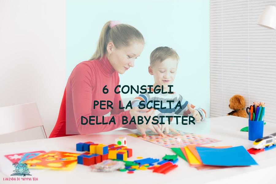 come scegliere la babysitter secondo L'Agenda di mamma Bea
