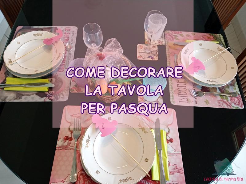 decorare la tavola di Pasqua con L'Agenda di mamma Bea