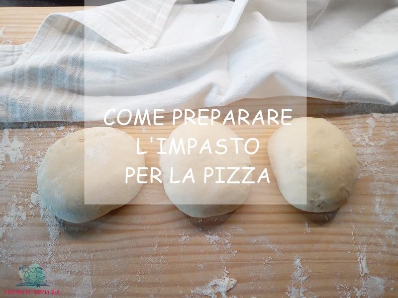 la pizza preparata da L'Agenda di mamma Bea