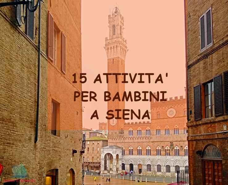 cosa fare a Siena con i bambini con L'Agenda di mamma Bea