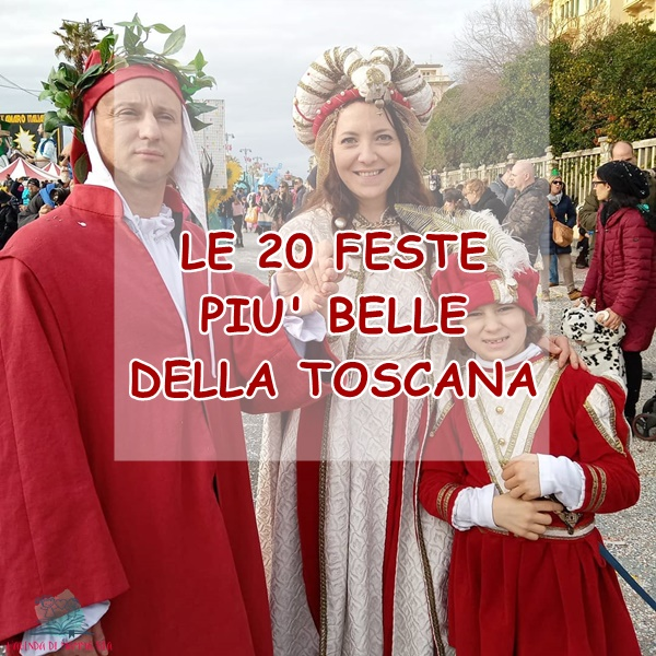 Facciamo festa in Toscana con L'Agenda di mamma Bea