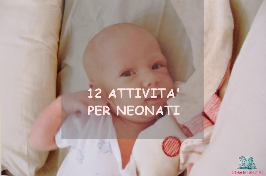 Attività per neonati su L'Agenda di mamma Bea